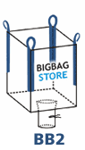 Big Bag met losslurf